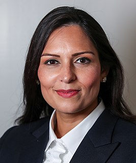 Priti Patel British Conservative politician