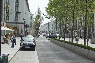Brest, France - Rue de Siam (Siam Street) in 2006.