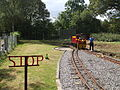 Ruislip Lido stn look south to turntable.JPG
