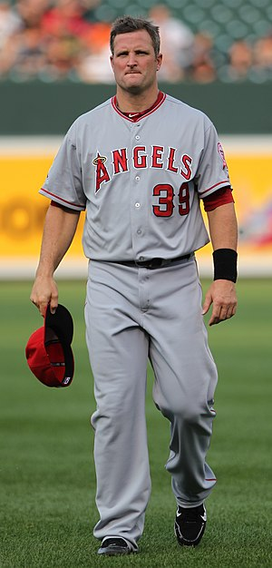 Russell Branyan - Branyan with the Los Angeles Angels of Anaheim