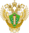 Russia, Emblem of Rostehnadzor, 2007.png