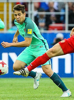 Raphaël Guerreiro - Guerreiro with Portugal in 2017