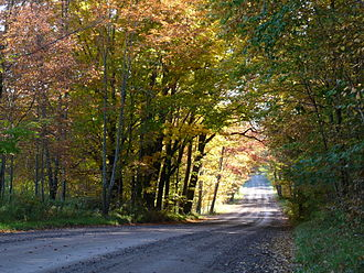 Taylor County, Wisconsin - Rustic Road 1, north of Rib Lake