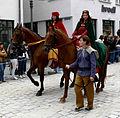 Rutenfest 2010 Festzug Welfen Welf IV und Judith.jpg