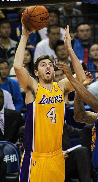 Ryan Kelly (basketball) - Kelly with the Lakers