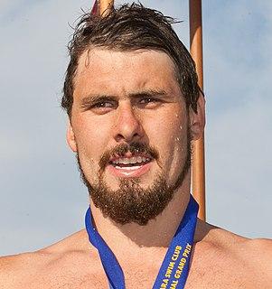 Ryan Napoleon Australian swimmer, Olympic athlete, Commonwealth Games gold medallist