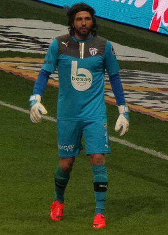 Sébastien Frey - Frey with Bursaspor in 2014
