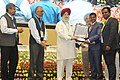 """S.S. Ahluwalia presenting the awards, at an event to mark the Swachh Bharat Diwas the 3rd anniversary of the launch of Swachh Bharat Mission and the conclusion of """"Swachhata hi Sewa"""" fortnight, in New Delhi.jpg"""