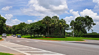 MetroWest (Orlando) - Hiawassee Rd was widened during the construction of MetroWest