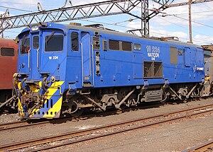 South African Class 18E, Series 1 - No. 18-224, Ladysmith, KwaZulu-Natal, 5 August 2007