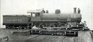 South African Class 6G 4-6-0 - Image: SAR Class 6G (4 6 0)
