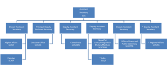 Bureau of South and Central Asian Affairs - Organizational chart of the Bureau of South and Central Asian Affairs as of 2014