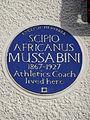 SCIPIO AFRICANUS MUSSABINI 1867-1927 Athletics Coach lived here.jpg