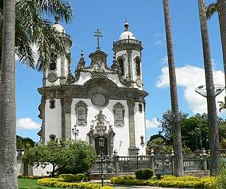 São João del Rei Municipality in Southeast, Brazil