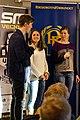SM-veckan 2013 presskonferens 15 Calle Halfvarsson, Anna Haag, Sara Lindborg (Längdskidor) 3.jpg