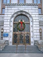 The Francis Building of Saint Mary's Hospital.