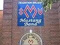 SMU Mustang Band Hall Entrance 2004.JPG