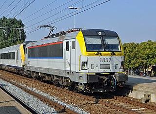 Belgian Railways Class 18 (Siemens) class of 120 Belgian electric locomotives, built by Siemens 2008–2011