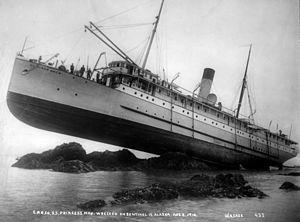Princess May (steamship) - Image: SS Princess May 3c 33388u