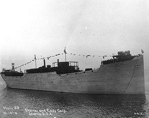 SS West Eldara after launch