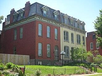 Benton Park, St. Louis - Townhouses in Benton Park