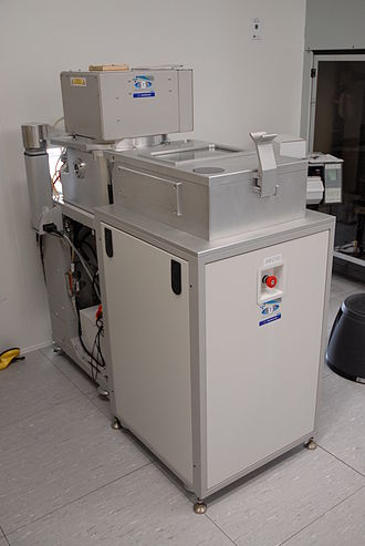 Plasma-enhanced chemical vapor deposition - PECVD machine at LAAS technological facility in Toulouse, France.