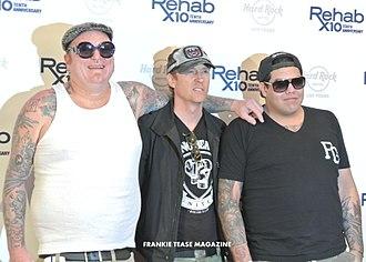 Josh Freese - Freese (center) alongside his Sublime with Rome bandmates.