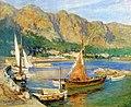 Sailboats-South-of-France-Frederick-Arthur-Bridgeman.jpg