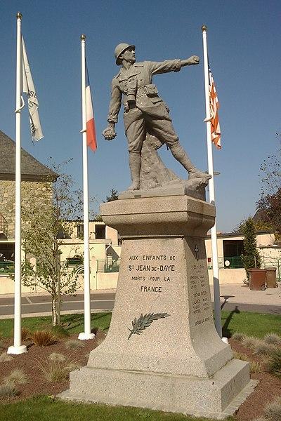 Monument aux morts de fr:Saint-Jean-de-Daye