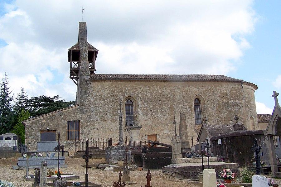 Church of Saint-Martin-de-Lerm (Gironde, France)