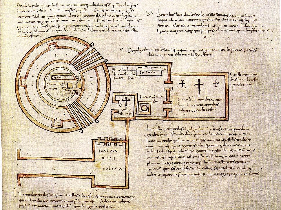 Saint-Sépulcre (plan d'Arculfe)