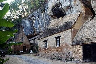 Saint-Cirq, Dordogne - Upper village