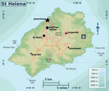 saint helena island travel guide at wikivoyage. Black Bedroom Furniture Sets. Home Design Ideas