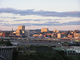 Saint John, NB, skyline at dusk8.jpg