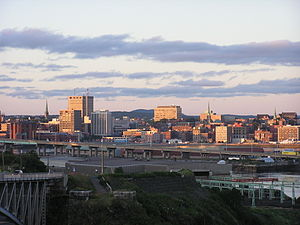 Skyline of Saint John
