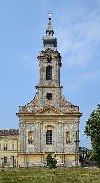 Bač, Serbia - Image: Saint Paul's Church in Bač (Bács)