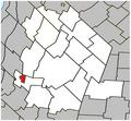 Sainte-Madeleine Quebec location diagram.PNG