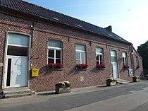 Sainte-Marie-Cappel (Nord, Fr) mairie et bibliothèque.JPG
