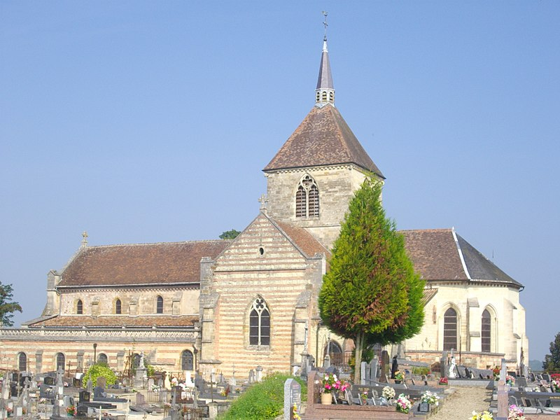 Our Lady church of Sainte-Menehould (Marne, France)