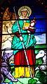 Sainte Florine sancta florina vierge martyre vitrail de Mazoires.jpg