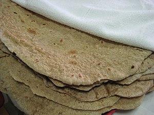 Saj - Arabic flat bread