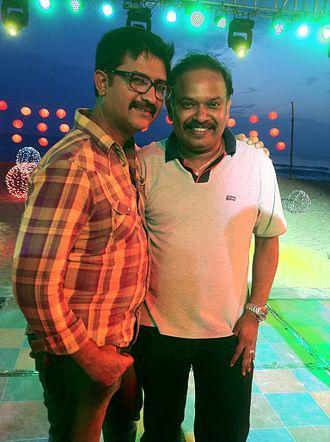 Sakthi Saravanan - Sakthi saravanan with director Venkat prabhu