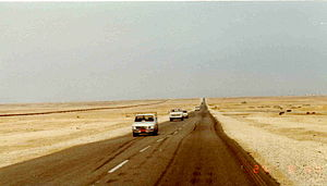 Trans-Arabian Pipeline - The pipeline in 1982