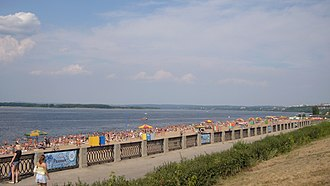 Samara - The Volga River in Samara