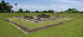 Sambisari - The Sambisari temple excavated area