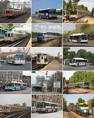 Metropolitan Transportation Authority - The Metropolitan Transportation Authority (MTA) provides local and express bus, subway, and regional rail service in Greater New York, and operates multiple toll bridges and tunnels in New York City.