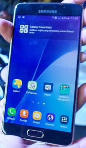 Samsung Galaxy A7 (2016) - Image: Samsung Galaxy A7