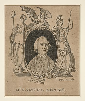 "English: ""Mr. Samuel Adams,"" by Paul..."