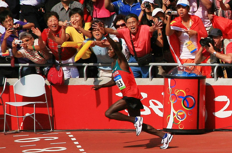 Samuel Wanjiru at 2008 Summer Olympics