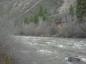 San Miguel River (Colorado) - Image: San Miguel River at Norwood